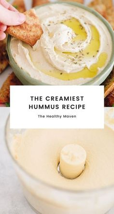 Looking for the best hummus ever? Jess famous hummus recipe utilizes two techniques to make the creamiest, most delicious hummus youll ever try. Perfect for pairing with pita chips or freshly chopped veggies!