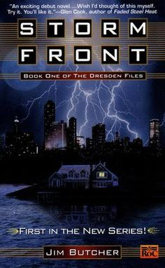 Storm Front (The Dresden Files) by Jim Butcher - read the whole series