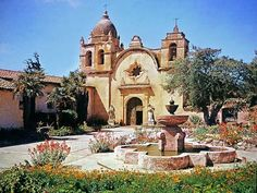 San Carlo Borromeo   Photograph:Mission San Carlos Borroméo del Río Carmelo is in Carmel ...