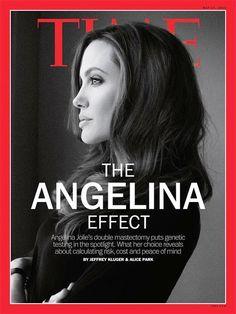Angelina #breastcancerawareness
