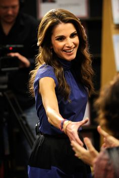 This is Queen Rania Al Abdullah, the Queen of Jordan. | The Queen Of Jordan Wrote An Amazing Letter To Young Girls Everywhere