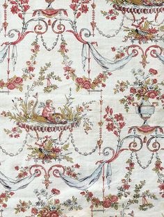 French Fabric Patterns | toile-de-jouy-printed-textiles-in-the-classic-style.jpg