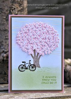 Independent UK Stampin' Up!® Demonstrator seller of paper craft supplies shares tips and ideas : Stampin Up Thoughtful Branches for The Grand Vacation Blog Hop