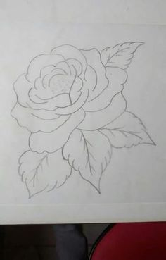 Brush Embroidery, Embroidery Stitches, Embroidery Patterns, Stencil Painting, Fabric Painting, Coloring Books, Coloring Pages, Tole Painting Patterns, Rose Art