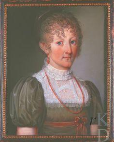 Portret van Joanna Reiniera Maria van der Heyden (1795-1848)  by Theodorus Bohres Date 1810-1820