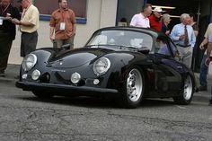 Black Porsche 356