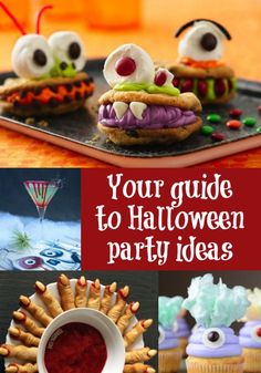 Check out this article in which I round up my favorite Halloween party ideas! If you are looking for cocktails, costumes, food, and more - click here!