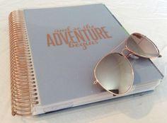 der good to go rose Gold Life Planner 2015/2016 ( vertical Layout) seht euch gerne mein Video und blogpost auf www.all-my-pretty-things.com dazu an :) #erincondren #lifeplanner (neu: es gibt jetzt auch das hourly weekly und das horizontal Layout)