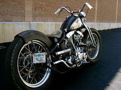 Bobber Inspiration | Shovelhead bobber | Bobbers and Custom Motorcycles | fucktwowheels December 2013