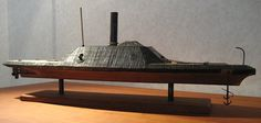 The Ship Model Forum • View topic - CSS Albemarle, Confederate Ironclad ram 1:96