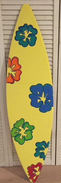 5FT painted wood surf boards surfboards for decorations prop replica ...