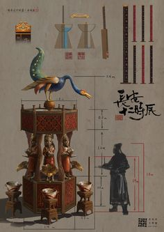 Ancient Words, Chinese Lanterns, Chinese Style, Illustration Art, Illustrations, Objects, Concept, China, Fantasy