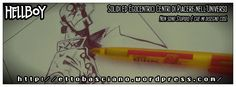 #inktober #Sketch #Draw #Disegno #Hellboy #Red #Comics #comicbook #Inking #Digital