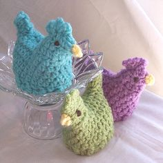 Items similar to Crochet Chicken Egg Cozy, Easter Peeps Easter Basket Fillers, Crochet Egg Warmers, Easter Decor, Crochet Easter Egg Cosy Easter Egg Hats on Etsy Crochet Egg Cozy, Diy Crochet And Knitting, Crochet Birds, Crochet Animals, Crochet Toys, Crochet Chicken, Easter Crochet Patterns, Chicken Crafts, Easter Peeps