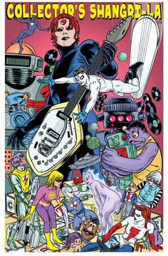 Collector's Shangri-La Fine Art Giclée Print by Laura and Mike Allred