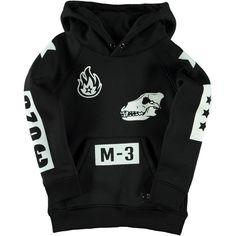 Molo Jungen Sweat Jacke, Mikkel Black 54,95€ www.frohtag.de
