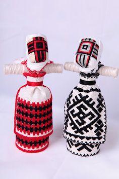 Ukranian national dolls...