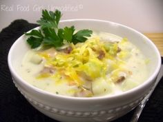 Potato Soup with Bacon. This is the tastiest, most satisfying potato ...