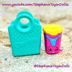 Meet Shopkins Season 3 Fiona Fries! #shopkins #toys #kidstoys #shopkinsseason3 #toysforkids #girlstoys #toysforgirls #cute #adorable