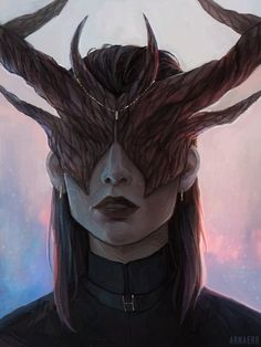 Series of portraits of Godlike from Pillars of Eternity Dnd Characters, Fantasy Characters, Female Characters, Character Concept, Character Art, Concept Art, High Fantasy, Fantasy Art, Pillars Of Eternity