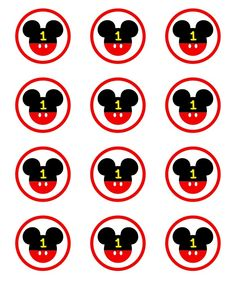 Minie Mouse Party, Minnie Mouse Theme Party, Fiesta Mickey Mouse, Mickey Mouse Decorations, Mickey Mouse 1st Birthday, Baby Mickey, Twin Birthday, Mickey Party, Theme Mickey
