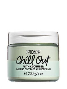 Chill Out Calming Clay Face & Body Mask You're Cute-Cumber. Green Clay and Cucumber soothe cranky skin. Aloe and Avocado Oil calm and condition. Say hello to blissed out vibes. Body Mask, Clay Face Mask, Easy Face Masks, Homemade Face Masks, Skin Mask, Face Mask For Blackheads, Avocado Face Mask, Clay Faces, Perfume