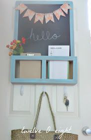 I LOVE this chalkboard......EXACTLY what I'm looking for to hang by the door