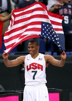 Good as gold: Photo gallery of Thunder players in the USA vs Spain Olympic gold-medal game.