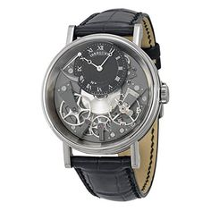 Breguet Tradition Black and Grey Skeleton Dial 18kt White Gold Black Leather Mens Watch 7057BBG99W6 https://www.carrywatches.com/product/breguet-tradition-black-and-grey-skeleton-dial-18kt-white-gold-black-leather-mens-watch-7057bbg99w6/  #blackwatch #breguetwatch-breguet-breguetwatches-#breguet-#breguetwatches #men #menswatches - More Breguet mens watches at https://www.carrywatches.com/shop/wrist-watches-men/breguet-watches-for-men/
