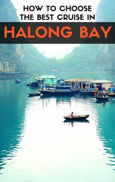 All you need to know to book a cruise in Halong Bay and have a truly memorable experience. 6 Steps to enjoy a magical place! #Vietnam #VietnamCharm #HalongBay #Travel #RoamThePlanet