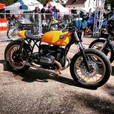 BMW Café Racer - Page 36 Bobber Bikes, Cafe Racer Bikes, Cafe Racers, Motorcycles, Bmw 100, Bmw Motorbikes, Motorbike Design, Bavarian Motor Works, Bmw Boxer