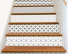 Bandes de 15steps escalier Riser vinyle autocollant par SnazzyDecal