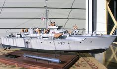 Vosper MTB 77 1/35 Scale Model