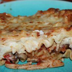 Chicken Cacciatore Lasagna #pasta #cheese