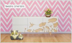 lina-cherie:  Awesims conversions - Sideboard & owl pillowsA few more Awesims conversions, because ❤❤This set includes:Hummingbird sideboard (3 slots) Owl pillow - 3 colorsOwl pillow small - 3 colorsCredit: Awesims (Meshes), hafiseazale (Ts2 conversion owls), lmhwjs (Ts2 conversion sideboard)DOWNLOAD (dropbox) Separate files