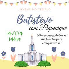 As Tontas Vão Ao Céu: Batistério e Piquenique no Templo  da ORM (Ala San...