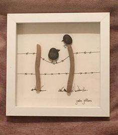 Strandgut-Kunst-Bild Ein perfektes Geschenk Alle Artikel von mir auf UK Strände gefunden