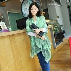 160*70cm High quality Blue and White Porcelain Style Thin Section the Silk Floss Women Scarf