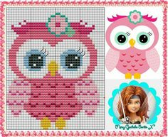 Cute owl The Effective Pictures We Offer You About Stitching sketch A quality picture can tell you many things. You can find the most beautiful pictures that can be presented to you about Stitching di Cross Stitch Owl, Cross Stitch For Kids, Cross Stitch Animals, Cross Stitch Charts, Cross Stitch Designs, Cross Stitching, Cross Stitch Patterns, Pixel Pattern, Kids Blankets