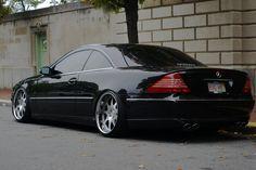 Mercedes-Benz 2005 CL500 | Discussion: Stanced Mercedes Benz CL500 W215. Cold rims