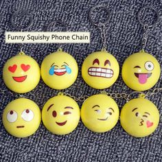 Wholesale price + Free shipping Honana DX-145 Funny Emoji Face Squishy Toys Stress Reliever Phone Chain Hang Decorations . GET IT NOW! https://www.gekaz.com/product/honana-dx-145-funny-emoji-face-squishy-toys-stress-reliever-phone-chain-hang-decorations-2/