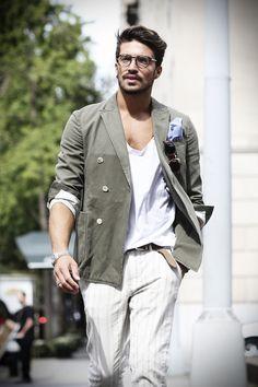 Street Style Mariano Di Vaio New York Fashion Week - www.mdvstyle.com