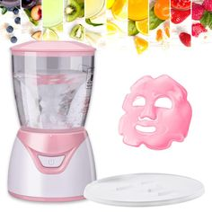 Dear Super Mini Face Mask Maker Home DIY Fruit Facial Mask Machine with 32 Collagen Pills de Toilette Brushes-Tools Brushes Household-Personal Care Care Spa Facial, Facial Masks, Collagen Pills, Collagen Facial, Skin Care Spa, Natural Skin Care, Diy Mask, Diy Face Mask, Face Diy