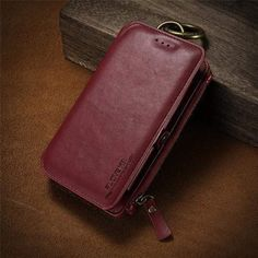 Business Leather Wallet Phone Bag Cases For iPhone 6 For iPhone X 8 7 Plus Case Mobile Cover Iphone 7, Iphone 5s Covers, Iphone Cases, Phone Cover, Iphone Leather Case, Iphone Wallet Case, Card Wallet, Iphone Models, 6s Plus