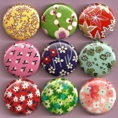 button/badge magnets