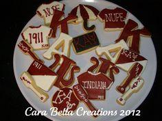 Kappa Alpha Psi cookies