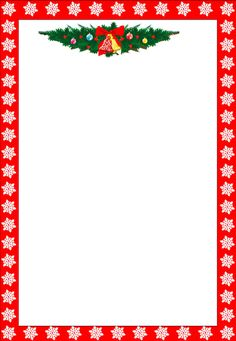 Printable Christmas Letter Paper - Christmas Printables regarding Christmas Note Paper Template - Best Professional Templates Christmas Boarders, Free Christmas Borders, Christmas Clipart Free, Christmas Note, Christmas Frames, Free Christmas Printables, Christmas Paper, Christmas Cards, Beach Christmas