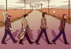 Supernatural characters / Abbey Road