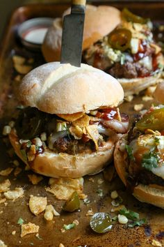 Southwestern BBQ Bacon Burger