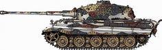 German Panzer Camouflage Patterns | PICS] Tiger II Camouflage Patterns
